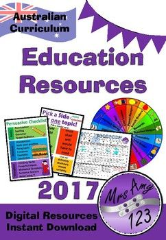 Mrs Amy123 Product Catalogue 2017- Australian Curriculum