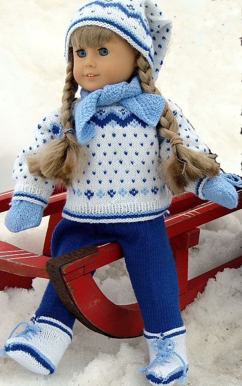 free knitting patterns for doll clothes | Free Doll Clothes Knitting Patterns Free Knitting Patterns