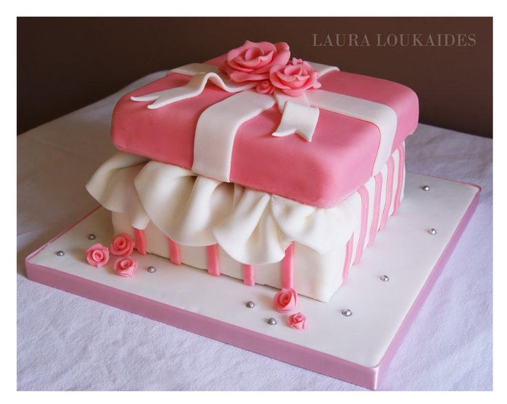 178 best Gift Box images on Pinterest | Amazing cakes, Gift boxes ...
