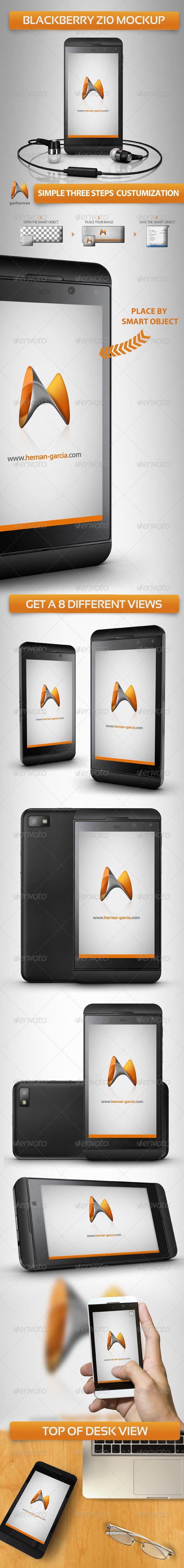 Blackberry Z10 MockUps — Photoshop PSD #showcase #app • Available here → https://graphicriver.net/item/blackberry-z10-mockups/4639399?ref=pxcr