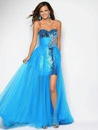 193 best images about Blue prom dress on Pinterest