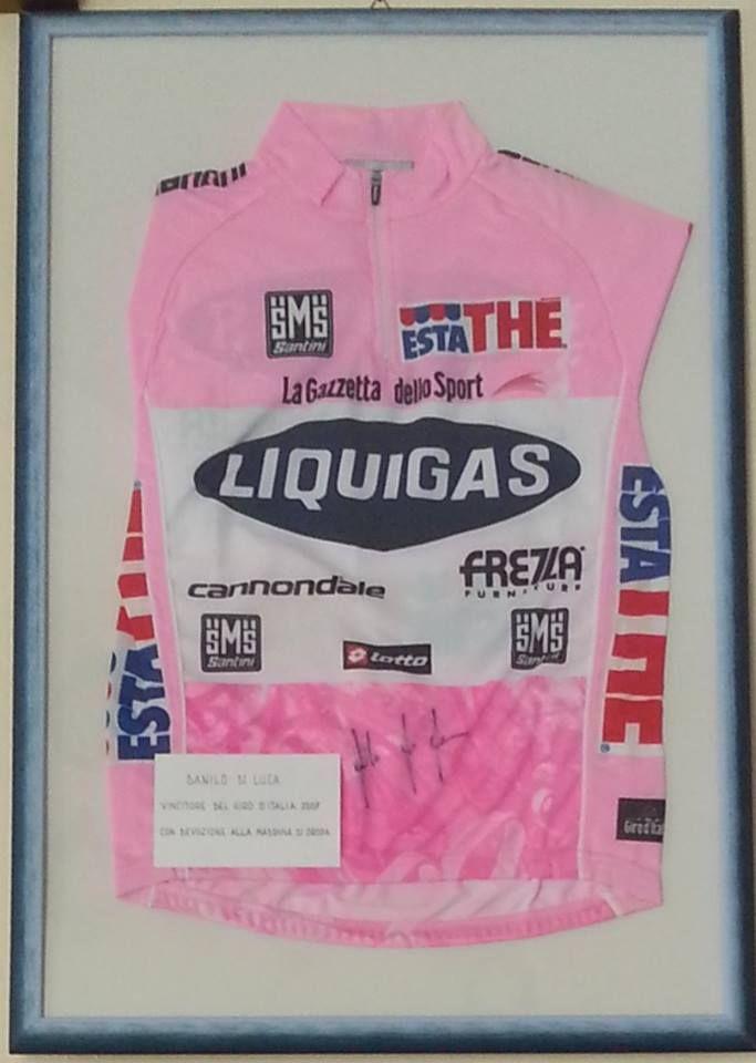 #Giroditalia 2007, maglietta di Danilo Di Luca #bici #bike #ciclismo