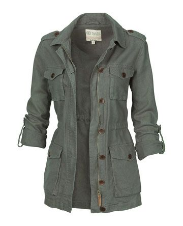 Linen Military Jacket Brittany, I'm stalking your Pinterest profile :P