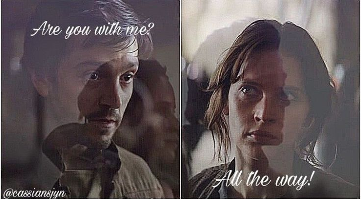 """""""Are you with me."""" """"All the way."""" #rebelcaptain"""