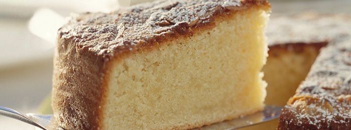 Rich Almond Cake -  Bertolli Recipe.