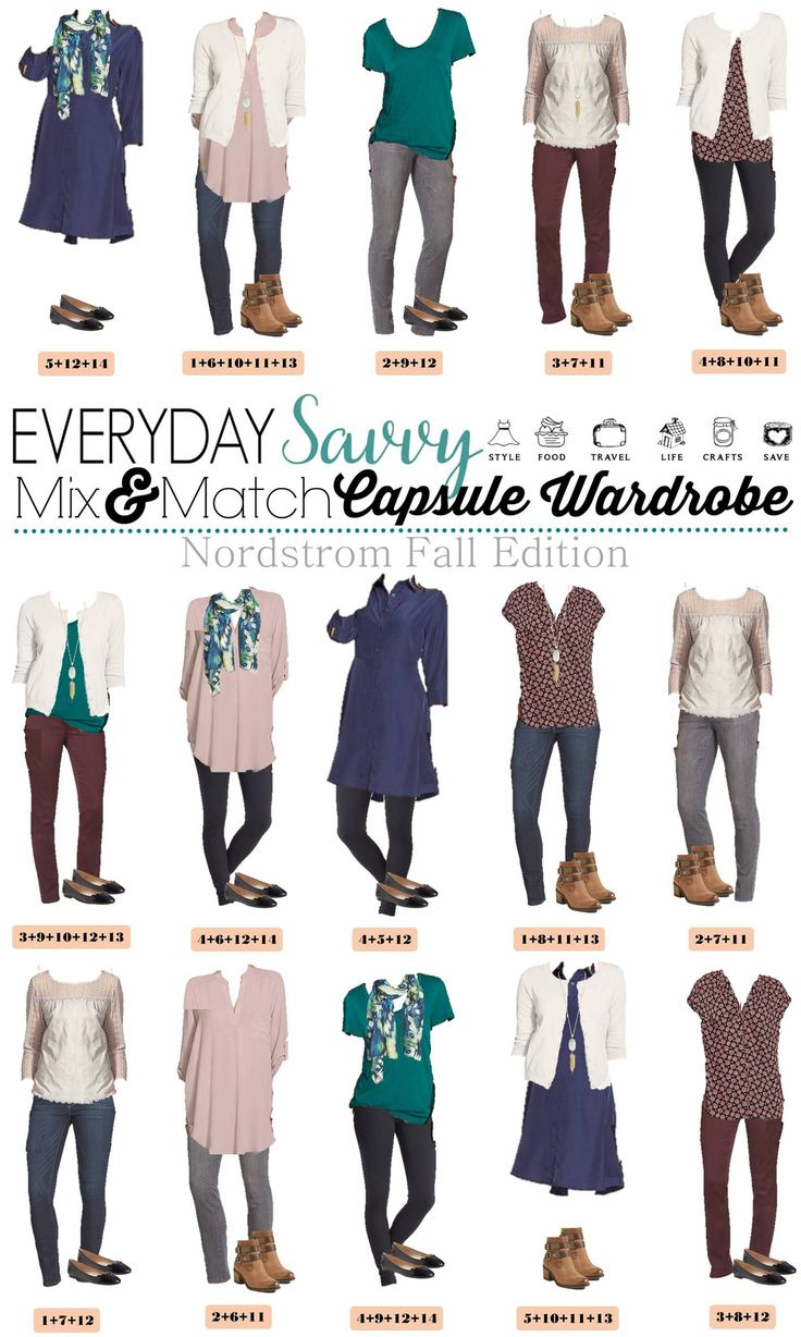1000+ Ideas About Fall Capsule Wardrobe On Pinterest