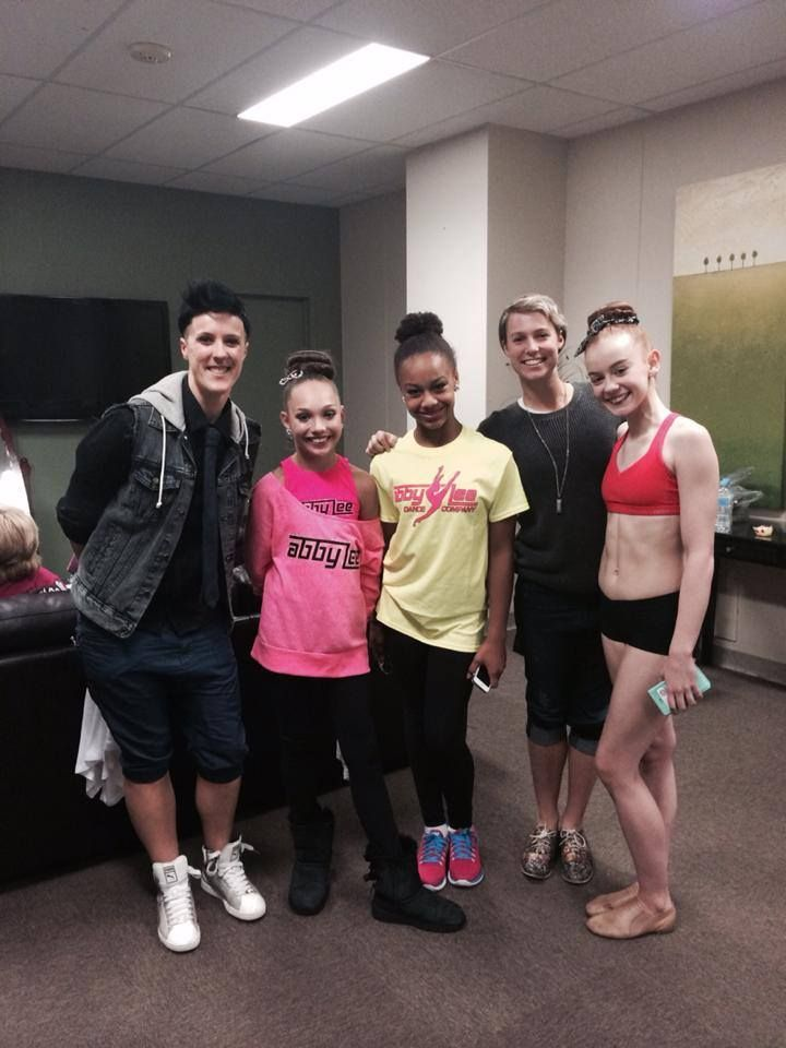 ~Nia Frazier and Maddie Ziegler with Ashi Ross