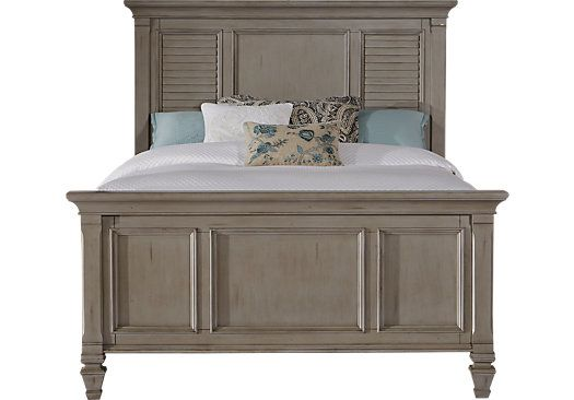 Shop for a Belmar Gray 3 Pc King Panel Bed at Rooms To Go. Find Beds that will look great in your home and complement the rest of your furniture.