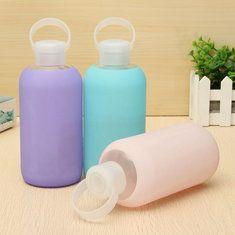 #Banggood 500мл творческой стеклянная бутылка воды портативный милые стеклянные чашки мини- бутылки с водой (1086316) #SuperDeals