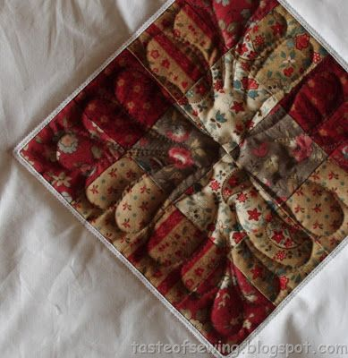 A taste of sewing: Ещё кукольное одеяло