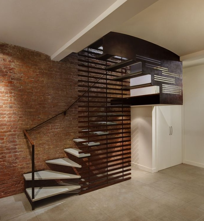 Loft Staircase With Turn