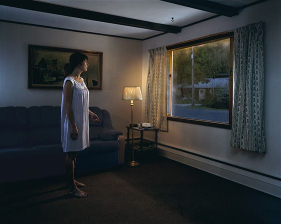 Gregory Crewdson's Untitled from the series 'Twilight' (2001-2).