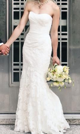 Enzoani Casablanca: buy this dress for a fraction of the salon price on PreOwnedWeddingDresses.com