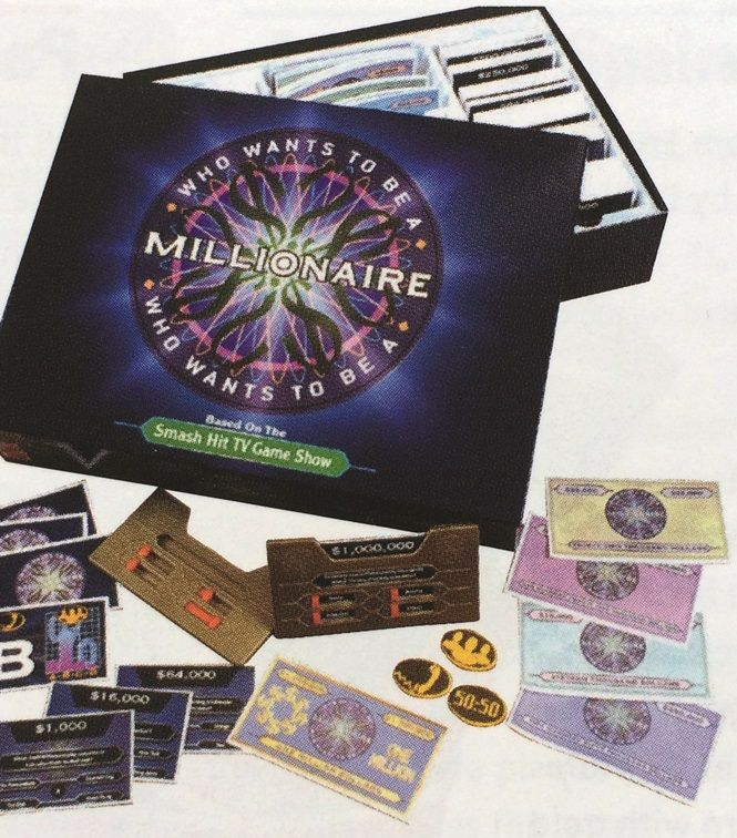 January-March 2001: Millionaire board game