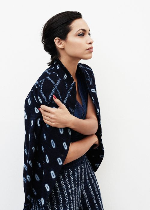 Rosario Dawson for Yahoo Style (April 2015)