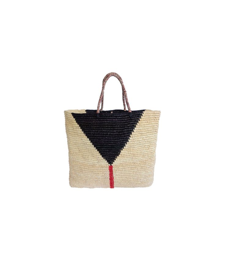 Martinique Classic Straw Tote by Prymal