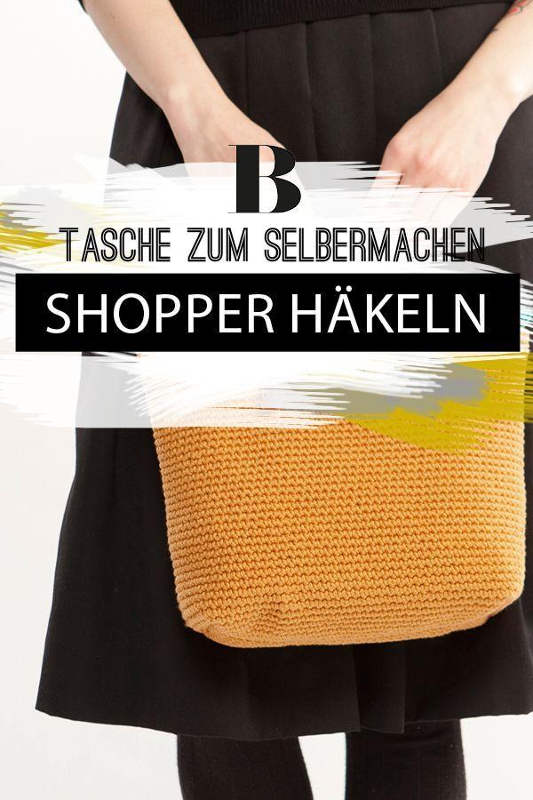 Shopper häkeln – Lieblingstasche zum Selbermachen