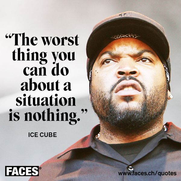 Motivational quote by Ive Cube The worst thing you can do