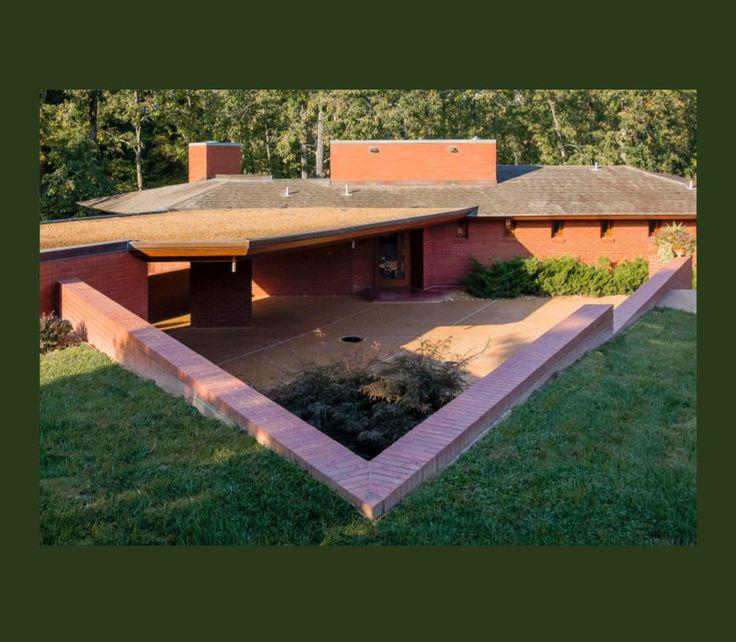 Inside Mansion Of Kirkwood: 218 Best Images About Frank Lloyd Wright On Pinterest