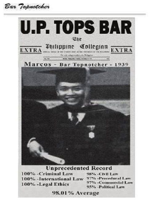 life and achievements of ferdinand marcos Despite criticisms of marcos's claims, according to the 1992 presidential inaugural biography of president fidel ramos who turned his back on ferdinand marcos during the people power revolution, his father narciso ramos served as one of the leaders of the guerrilla group maharlika founded by president ferdinand marcos.