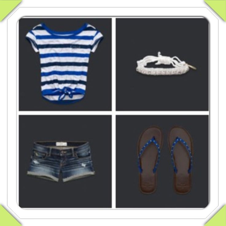Abercrombie kids outfit-love it but those shorts are a little too short!