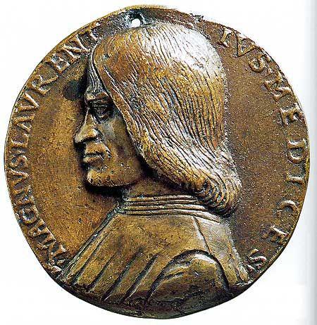 Lorenzo de' Medici Portrait Medal