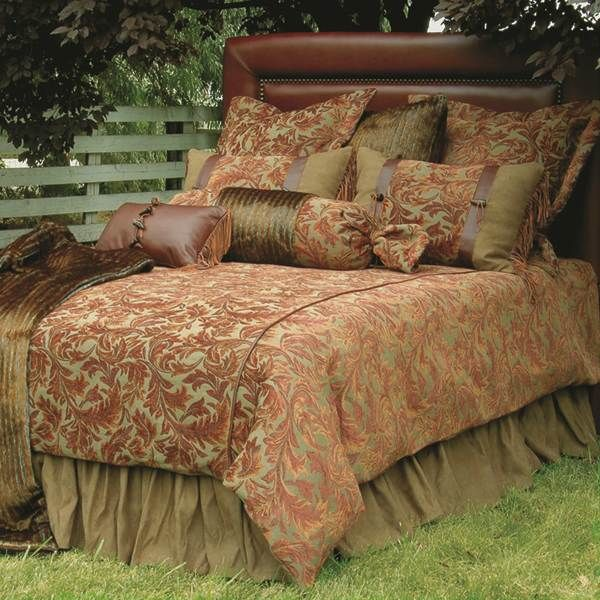 Wooded River Nutmeg Leaf Bedding   Best Sales And Prices Online! Home  Decorating Company Has