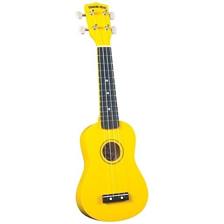 Diamond Head Ukulele - Yellow Soprano