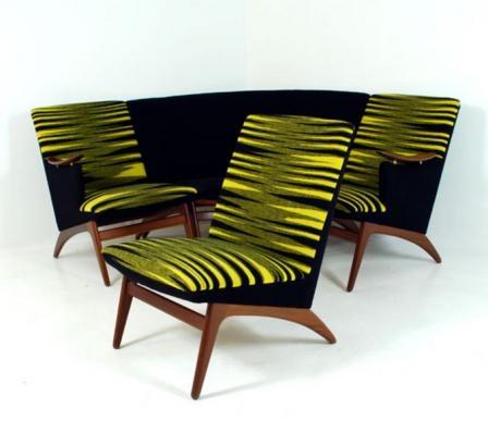 Norwegian Sofa Set (Gerhard Berg) Varia by Vatne,1955