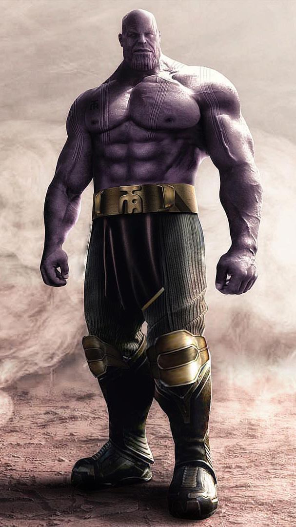Thanos Muscles iPhone Wallpaper Movie wallpapers