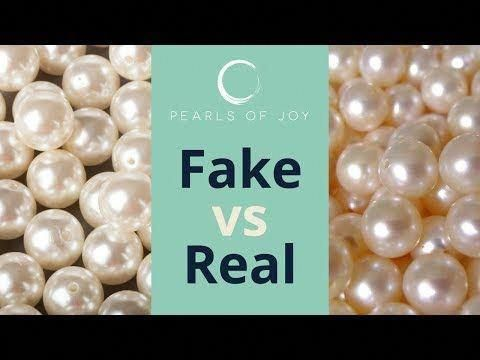 Fake Pearls Or Real Pearls How To Tell The Difference Pearlnecklace Goldjewelry Goldchainsmen Goldchains Fakegoldchai Real Pearls Pearls How To Clean Pearls