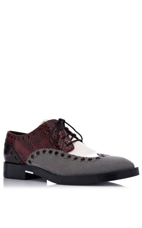 The Best Men's Shoes And Footwear : Nathan Oxford by Alexander Wang for  Preorder on Moda Operandi.
