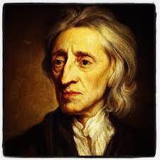 John Locke (1632- 1704). Locke was een Engelse filosoof. Volgens Locke hadden alle mensen gelijke rechten. Dus was iedereen vrij. En de natuur maakte ook geen onderscheid tussen mensen. dit Zijn de natuurrechten.