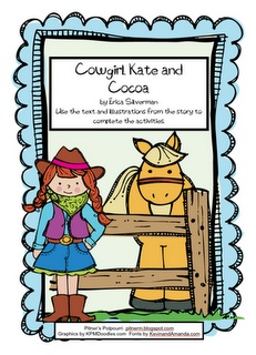 LA (2nd & 3rd CCS-aligned) - Cowgirl Kate & Cocoa (Erica Silverman) - Text Exemplar - Pitner's Potpourri Freebie