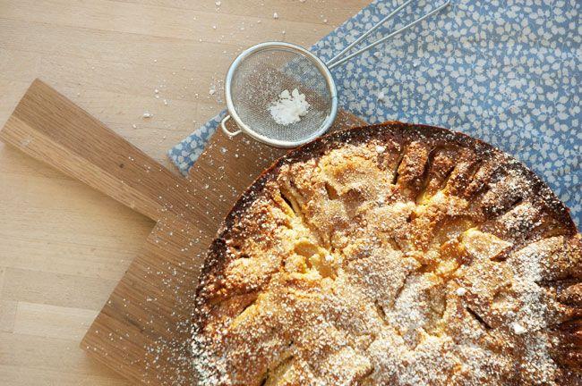 Pærekage opskrift - den bedste hjemmelavet kage med pære