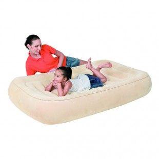Matelas gonflable sécurisé pour enfants de 3 à 6 ans - Bestway 148 x 93 x 22 cm