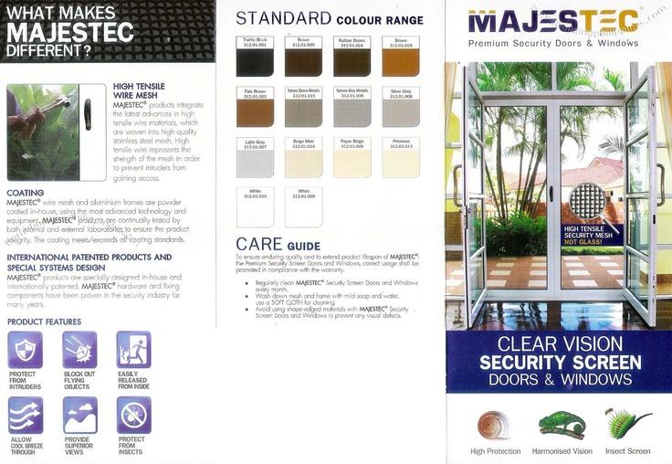 Majestec Premium Security Doors & Windows