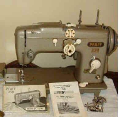 pfaff 230 sewing machine value
