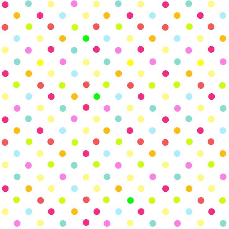 Polka multicolores numériques gratuites parsèment papier de scrapbooking - ausdruckbares Geschenkpapier - freebie   MeinLilaPark - imprimables et téléchargements de bricolage