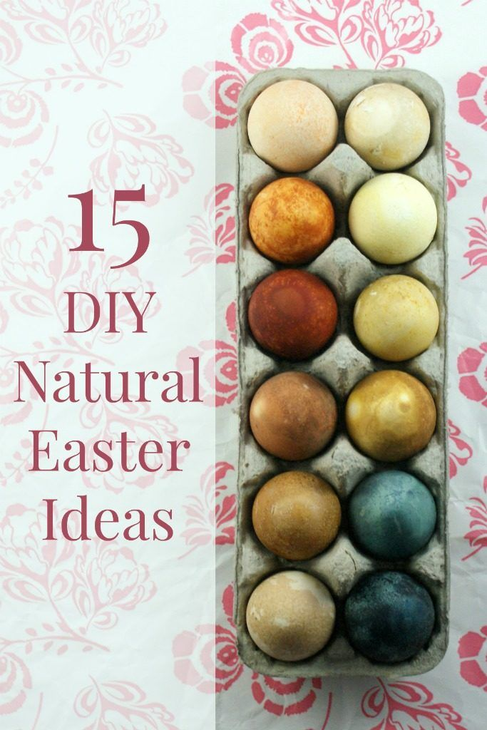 15 DIY Natural Easter Decorations and Celebration Ideas