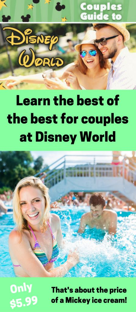Couples Guide to Disney World ~ Disney World is one of the most popular destinations for adults! Learn the best of the best at Disney World for couples with the Couples Guide to Disney World ~ Don't get stuck on it's a small world! Learn the best of the best for Couples at Disney World ~ Ready for romance at Disney World? Celebrate your special vacation with insider tips from the Couples Guide to Disney World
