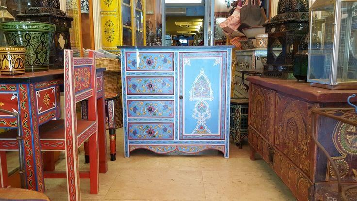 Maroccan style - mobili marocchini decorati a mano