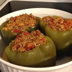 Ideal Protein Stuffed Peppers recipe