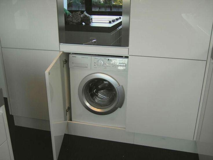 Waschmaschine In Kleine Küche Integrieren | Einbauschrank ...