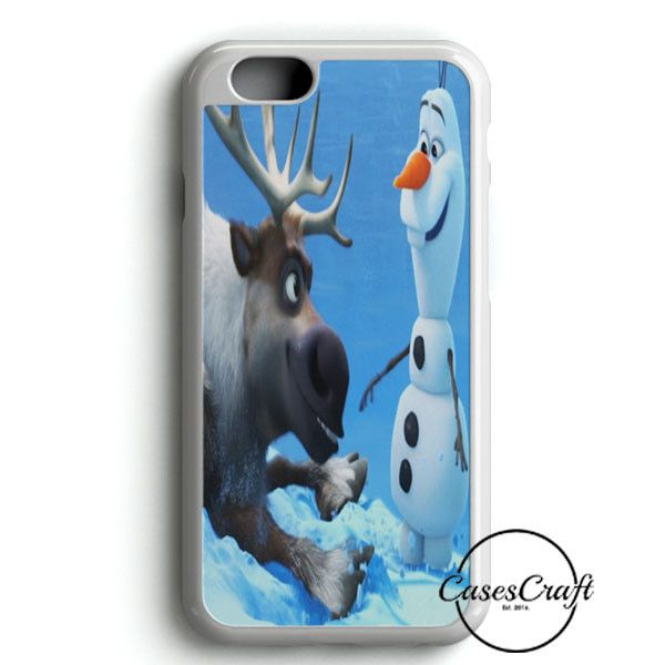 Sven And Olaf Funny Cartoon iPhone 6/6S Case | casescraft