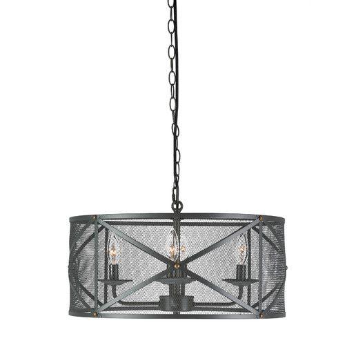 found it at wayfair jovani 4 light drum pendant - Drum Pendant Lighting