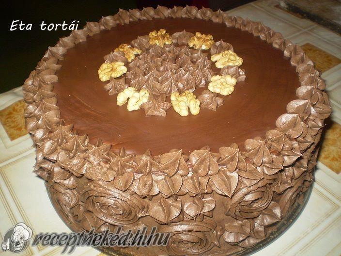 Kipróbált Diótorta csokis krémmel Eta módra recept egyenesen a Receptneked.hu gyűjteményéből. Küldte: Császár Eta