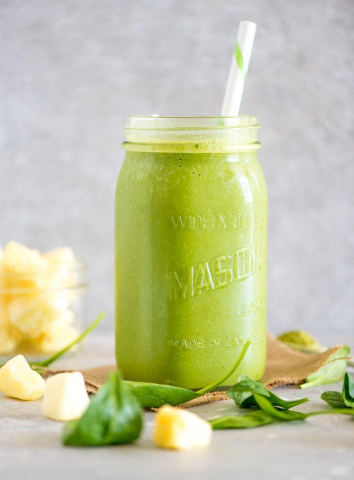 Green Mango Pineapple Smoothie Recipe Recipe Breakfast Smoothie Recipes Vegan Breakfast Smoothie Smoothie Recipes Healthy