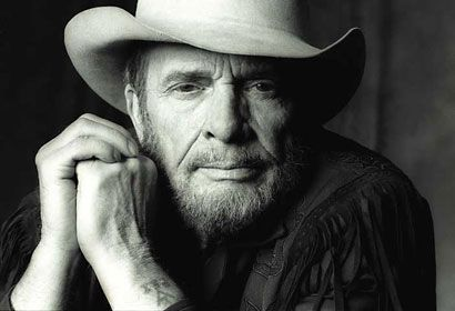 """Truly the """"poet of the common man"""", Merle Haggard. There has never been, or will ever be, another one like Merle. What a voice..."""
