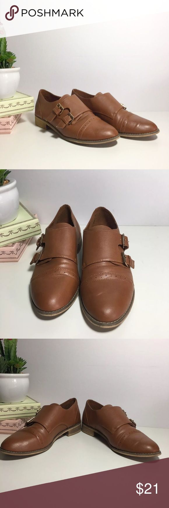 Creeper Teddy Loafer Boy Shoes Brown Size 9 Name Brand: Forever 21  Condition: Pre Owned, Excellent condition light wear, no holes, stains or flaws to note  Size: 9  Color: Brown  Style: Teddy Boy Creeper Forever 21 Shoes Flats & Loafers